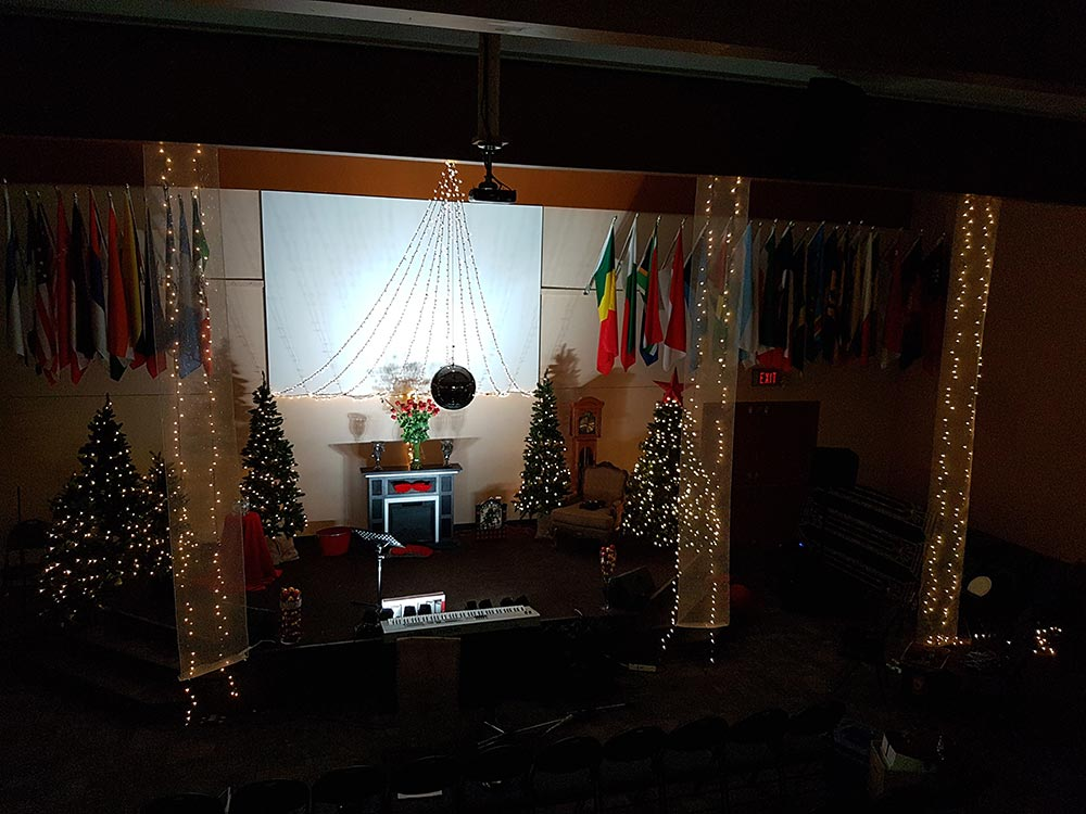 2018 Christmas Concert Stage