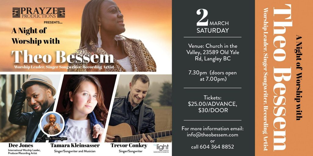 A Night of Worship with Theo Bessem